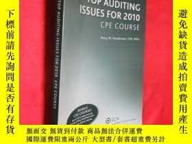二手書博民逛書店Top罕見Auditing Issues for 2010 CP