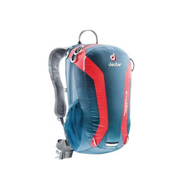 [deuter] SPEED LITE 超輕量旅遊背包 15L 深藍/紅 (33111)
