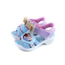 冰雪奇緣 Frozen Elsa Anna 涼鞋 水藍/粉紫 蝴蝶結 中童 童鞋 FOKT04806 no709 16~21cm