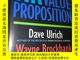 二手書博民逛書店The罕見HR Value Proposition.Y23397
