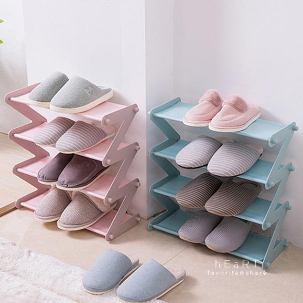 (限宅配)居家簡約多層收納鞋架 收納架 置物架 組裝鞋架