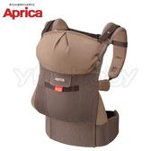 愛普力卡 Aprica COLAN CTS 新生兒腰帶型四方向四用途揹巾 -智慧棕