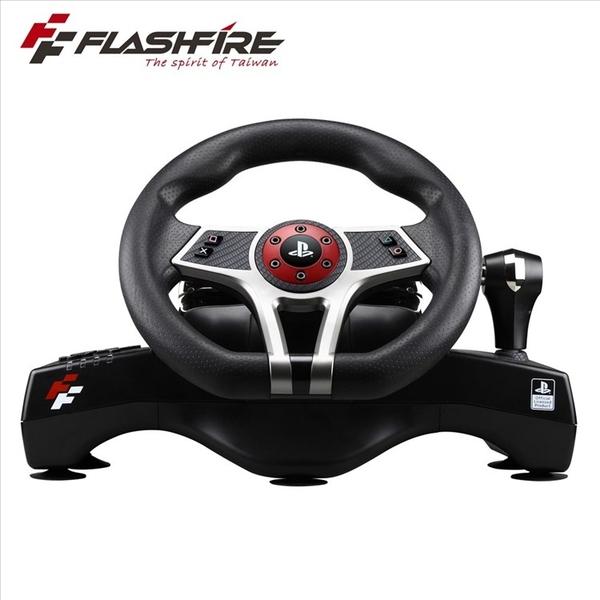 FlashFire 遊戲方向盤 HURRICAN WHEEL 颶風之翼 PS4/PS3 SONY賽車方向盤 強強滾