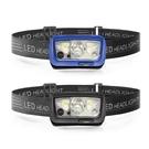 CY-2088 感應式輕量充電防水頭燈 四段燈光 (顏色隨機出貨) 20-20049