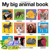 [106美國直購] 2017美國暢銷兒童書 My Big Animal Book (My Big Board Books) Board book