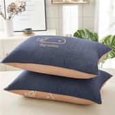 枕頭 抱枕 網紅枕頭枕芯一對裝枕頭學生宿舍床單人一只裝成人護頸椎枕女【限時八折】
