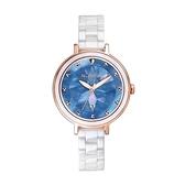 【Relax Time】Aurora極光系列珍珠母貝半陶瓷時尚腕錶-珍珠藍/RT-92-6/台灣總代理公司貨享一年保固