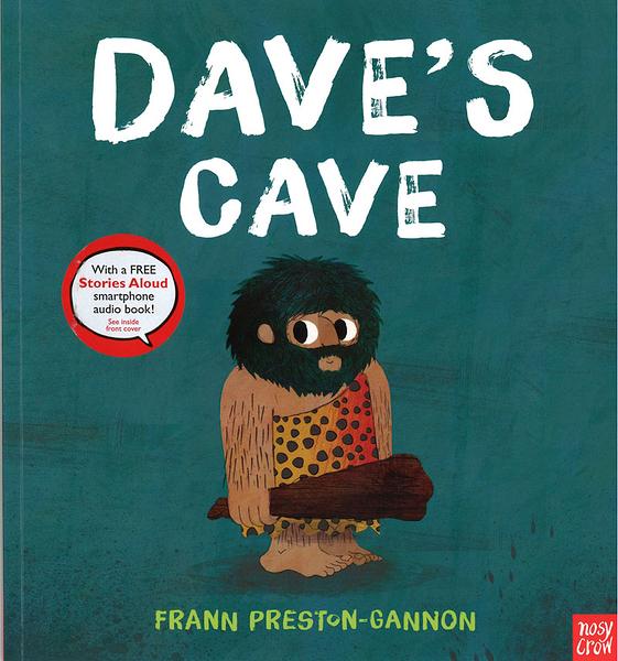 【麥克書店】DAVE'S CAVE /英文繪本《主題: 品格教育.分享》內附QR code