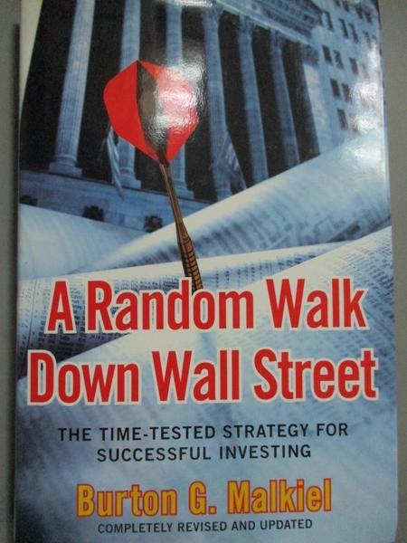 【書寶二手書T1/財經企管_PHJ】A Random Walk Down...: The Time Tested Strategy…