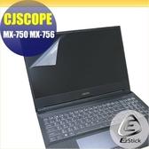【Ezstick】CJSOPE MX-750 MX-756 靜電式筆電LCD液晶螢幕貼 (可選鏡面或霧面)