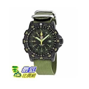 [美國直購 ShopUSA] 手錶 Luminox Recon Point Man Black Dial Green Nylon Mens Watch LM8826.MI $10546