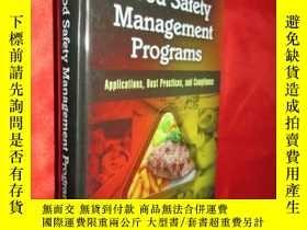 二手書博民逛書店Food罕見Safety Management Programs