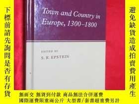 二手書博民逛書店Town罕見and Country in Europe, 130