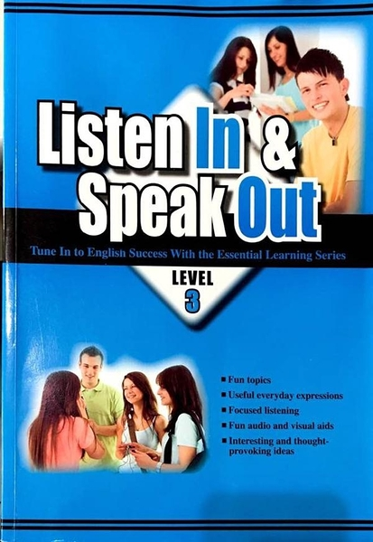 (二手書)大專用書:Listen In & Speak Out  Level 3(書+CD)