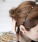 髮箍 現貨 韓國熱賣甜美手作簡約百搭水鑽珍珠細髮箍(6色) S7348 批發價 Danica 韓系飾品 韓國連線