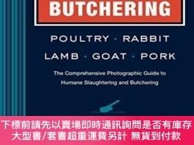 二手書博民逛書店Butchering罕見Poultry, Rabbit, Lamb, Goat, And PorkY25517