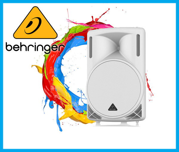 【小麥老師樂器館】Behringer 耳朵牌 Proered Speaker B215D-WH 主動式喇叭 喇叭