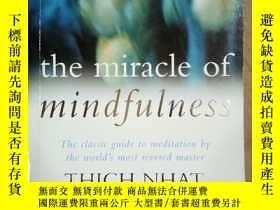 二手書博民逛書店The罕見Miracle of Mindfulness.Y12597 Thich Nhat Hanh HANH