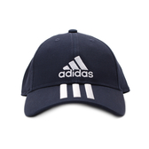 ADIDAS 6P 3S CAP COTTO 三線棒球帽 深藍 DU0198 鞋全家福