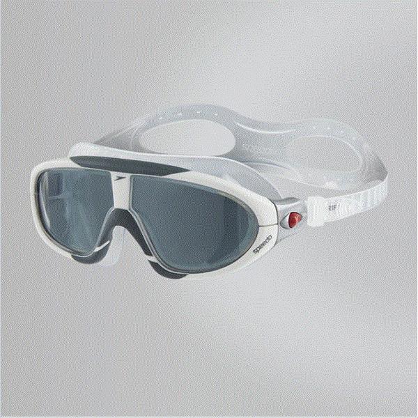 【線上體育】speedo 成人進階開放水域泳鏡RIFT 白-灰黑 SD8703293551