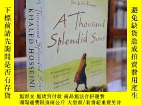 二手書博民逛書店A罕見Thousand Splendid Suns 千禧太陽Y1