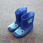 可愛立體男女寶寶幼兒園孩子兒童雨衣雨鞋套裝雨靴雨披防水玩水