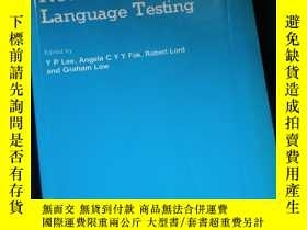 二手書博民逛書店New罕見Directions in Language TestingY16149