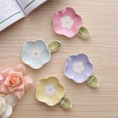 日式筷托陶瓷小碟子多功能筷架勺子架拖創意套裝可愛筷子架筷子托