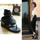 現貨 夏季新款羅馬夾腳涼鞋休閒女鞋......