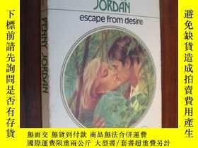 二手書博民逛書店Escape罕見from desireY85718 Anne W