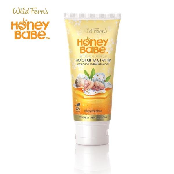 【升級版】Wild Ferns 麥蘆卡蜂蜜寶寶舒緩保濕霜 (添加純麥蘆卡蜂蜜) 100ml