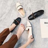 女鞋2018夏季新款單鞋女平底韓版百搭鞋小皮鞋 XW2246【潘小丫女鞋】