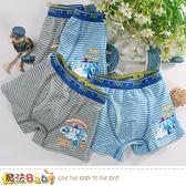 男童內褲(四件一組) POLI正版波力款彈性四角內褲 魔法Baby