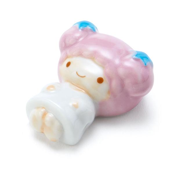 【震撼精品百貨】Little Twin Stars KiKi&LaLa_雙子星小天使~造型陶磁筷架#12161