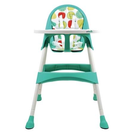 英國 unilove 兒童高腳餐椅(豌豆綠pea)[衛立兒生活館]
