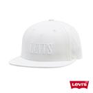 Levis 男女同款 可調式環釦棒球帽 / 全一色Serif Logo刺繡