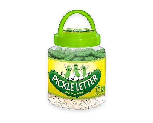 【KANGA GAMES】可愛酸黃瓜回來嘍! Pickle Letter 家庭益智派對桌上遊戲