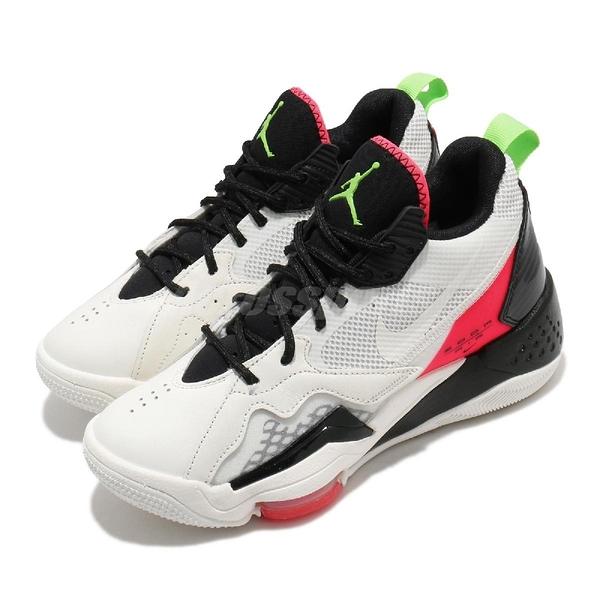 【六折特賣】Nike 籃球鞋 Wmns Jordan Zoom 92 米白 紅 女鞋 氣墊設計 合體鞋款 運動鞋 【ACS】 CK9184-100