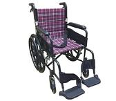 輪椅B款-22吋大輪折背// 旋轉式踏板