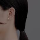 999純銀耳釘女小巧可愛防過敏養耳洞年新款潮ins簡約氣質耳環 檸檬衣舍