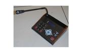 消防署認證 消防廣播系統(客製化)數位型LCD液晶顯示遙控麥克風含主機 賣場電話業務廣播
