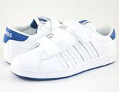 【K-SWISS】Hoke 3-Strap SP CMF休閒運動鞋-男-白/藍05458-843