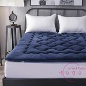 加厚經濟型法萊絨1.8米床墊保護墊被床褥子榻榻米1.5米雙人