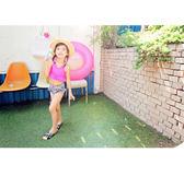 正韓溫泉兒童泳衣女寶寶可愛公主防曬游泳衣女童分體長袖速幹泳裝特惠免運