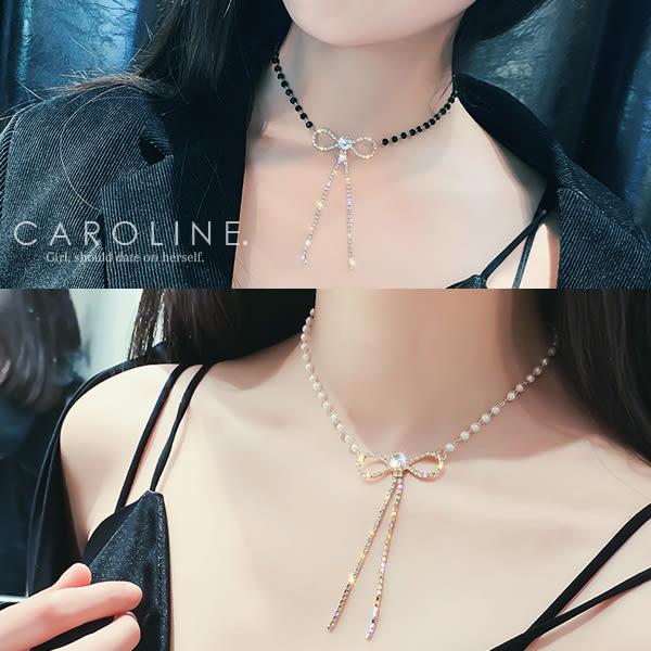 《Caroline》★韓國熱賣造型時尚  質感精緻‧迷人氣質項鍊71166