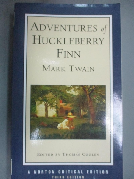 【書寶二手書T9/原文小說_PDI】Adventures of Huckleberry Finn_TWAIN, MARK
