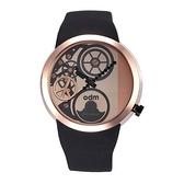 【odm】Swing鞦韆系列和平巧思設計腕錶-玫金款/DD137-03/台灣總代理公司貨享兩年保固