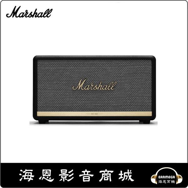【海恩數位】英國 Marshall Stanmore II 藍牙喇叭 經典黑