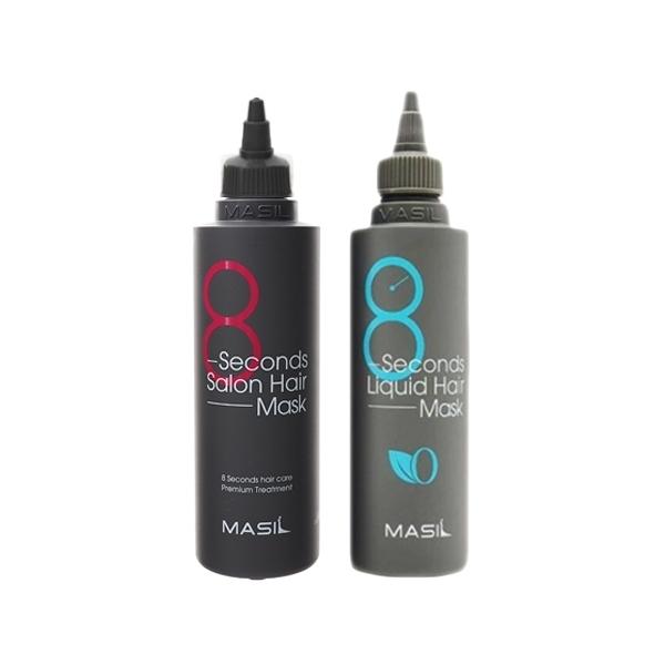 韓國 Masil 8秒沙龍縮時髮膜(200ml) 款式可選【小三美日】