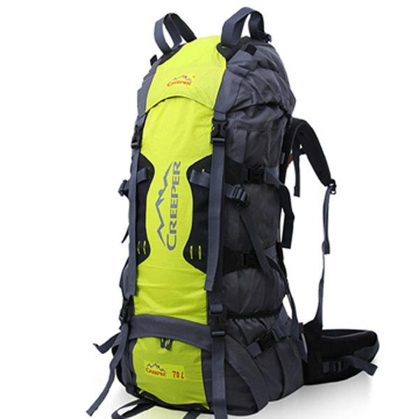 PUSH!登山戶外用品 70L專業型 登山背包 自助旅行背包 雙肩背包 贈防雨罩U10